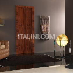 Giudetto Maxi 1011/QQ/A Gloss brushed rosewood. Modern Interior Doors - №160