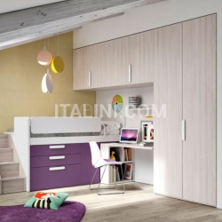 Mistral Bedroom with overbed unit 22 - №24