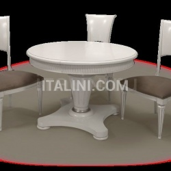 Table and chairs mod. Presient - №57