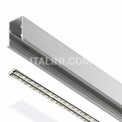 L-TECH Stripe system ceiling light  T5 normal - №165