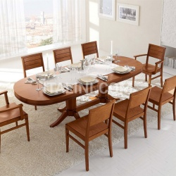 Tomasella Oval extendable table - №227
