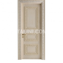CASTIGLIONE 1346/QQ Pale pink lacquered door Classic Wood Interior Doors - №7