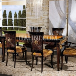 Bello Sedie Luxury classic chairs, Art. 3192: Table, Extensible table - №107