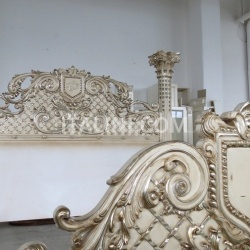 Palmobili BED WITH COLUMNS - №124