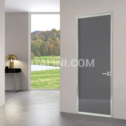 Bertolotto Porta simple light free luxor vetro antracite - №225