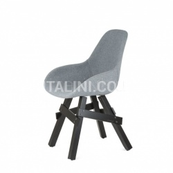 Kubikoff Slice Dimple Closed Chair - №5