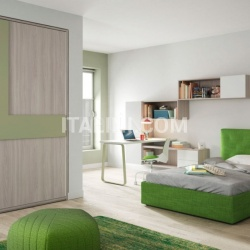 Bedroom with free-standing bed 08 - №44