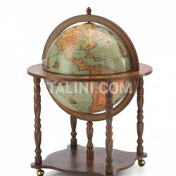 "Zofolli Large Bar Globe with Classic Zoffoli design ""Dedalo"" - Laguna - №53"