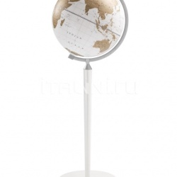 "Zofolli ""Vasco da Gama"" floorstanding globe - All White - №116"