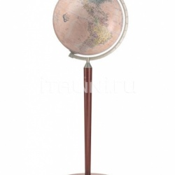 "Zofolli ""Vasco da Gama"" floorstanding globe - Antique Brown/Pink Political - №113"