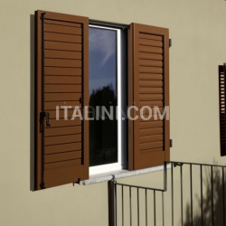 shutter with adjustable louvres - №187