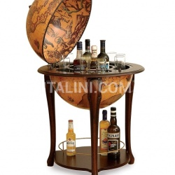 "Zofolli Aristocratic bar globe with shelf  ""Atena"" - Classic - №56"