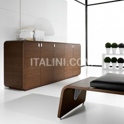 Ideal Form Team Sestante White Leather Desk - №15