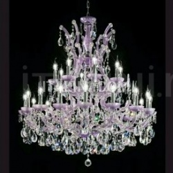 Italian Light Production Chandeliers - Satinato Lilla - №3