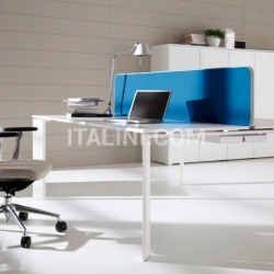 Ideal Form Team Office Co.Work White Table - №27