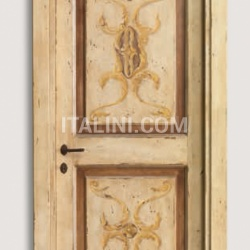 DUCALE 1112/Q Aged D-44 finish Classic Wood Interior Doors - №103
