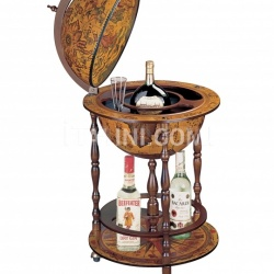 "Zofolli ""Pegaso"" floor bar globe on wheels - №161"