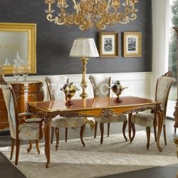 Bello Sedie Luxury classic chairs, Art. 3500: Table, Extensible table - №76