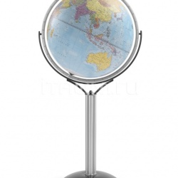 "Zofolli ""Magellano 50"" political floorstanding globe - Light Blue Political - №124"