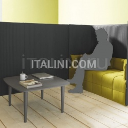 Low table with turned legs. - №163