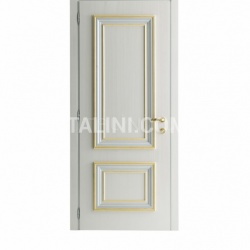 AMANTEA 1314/QQ nacreous painted door Classic Wood Interior Doors - №3