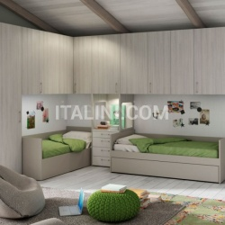 Bedroom with overbed unit 18 - №20
