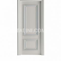 AMANTEA 1314/QQ Nacreous and silver painted door Classic Wood Interior Doors - №6