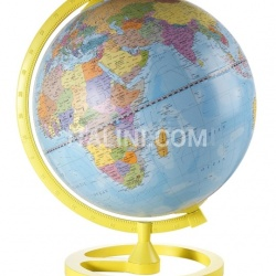 "Zofolli ""Colour Circle"" educational desk globe - Yellow - №101"