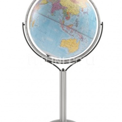 "Zofolli ""Magellano 60"" political floorstanding globe - Light Blue Political - №126"