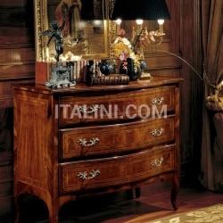 Palmobili 822 Chest of drawers + 823 Bedside table - №147