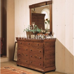 Hurtado Dresser and mirror - №56