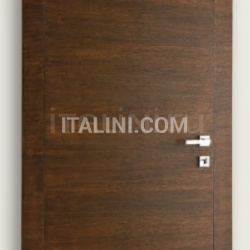 Giudetto FP 1011/QQ/H Brushed oak tobacco finish. Modern Interior Doors - №188