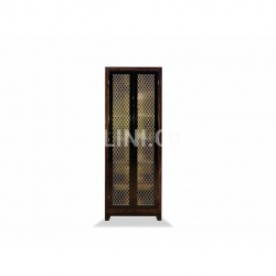 Leonard gridded glass doors - №58