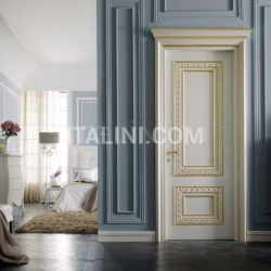 CASTIGLIONE 1344/QQ Nacreous brushed oak door Classic Wood Interior Doors - №10