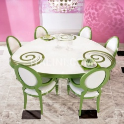 Luxury classic chairs, Art. 3316: Table - №85