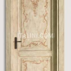 DONATELLO 1114/Q Aged finish  Classic Wood Interior Doors - №95