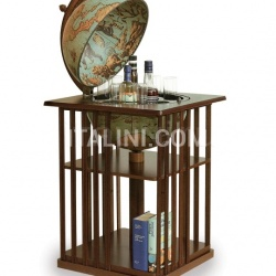 "Zofolli Bar globe with bookshelf ""Dafne"" - Laguna - №44"