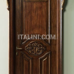 PALAZZO D'INVERNO 5016/QQ/INT. antique dark gold walnut Classic Wood Interior Doors - №31