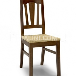 Corgnali Sedie Iris A - Wood chair - №40