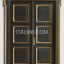 CARRACCI 2016/QQ Tuscan Black Classic Wood Interior Doors - №77