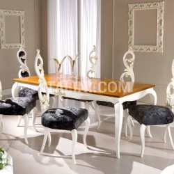 Bello Sedie Luxury classic chairs, Art. 3295: Table, Extensible table - №88