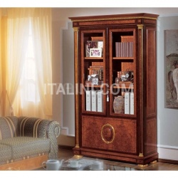 Marzorati Luxury bookcase Living room  - IMPERO / Bookcase with 2 doors - №32