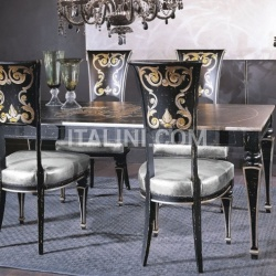Luxury classic chairs, Art. 3001: Table, Extensible table - №125