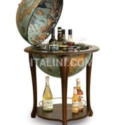 "Zofolli Aristocratic bar globe with shelf ""Atena"" - Laguna - №58"