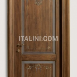 DONATELLO 1114/Q Antique-effect Trompe l'oeil coating Classic Wood Interior Doors - №92