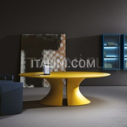 Ola meeting table Giallo lacquered - №70