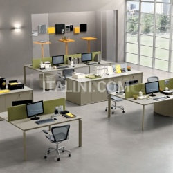 Office solutions with Anyware bench. - №50