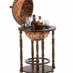 "Bar Globe with small bottle storage ""Crono"" - Classic - №30"