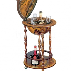 "Zofolli ""Ottante"" small floor bar globe on wheel - №158"