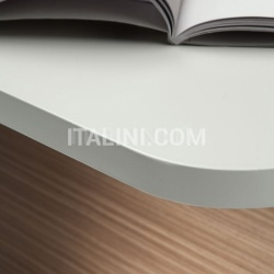 Ideal Form Team Sestante White Leather Desk - №16